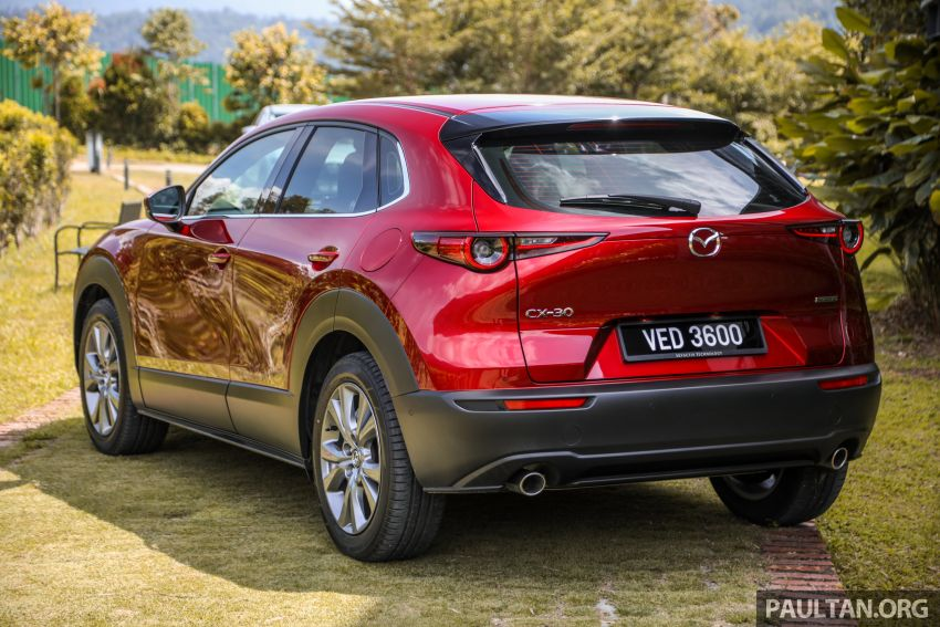 2020 Mazda CX-30 officially launched in Malaysia – three CBU variants; AEB and MRCC; from RM143k Image #1070342