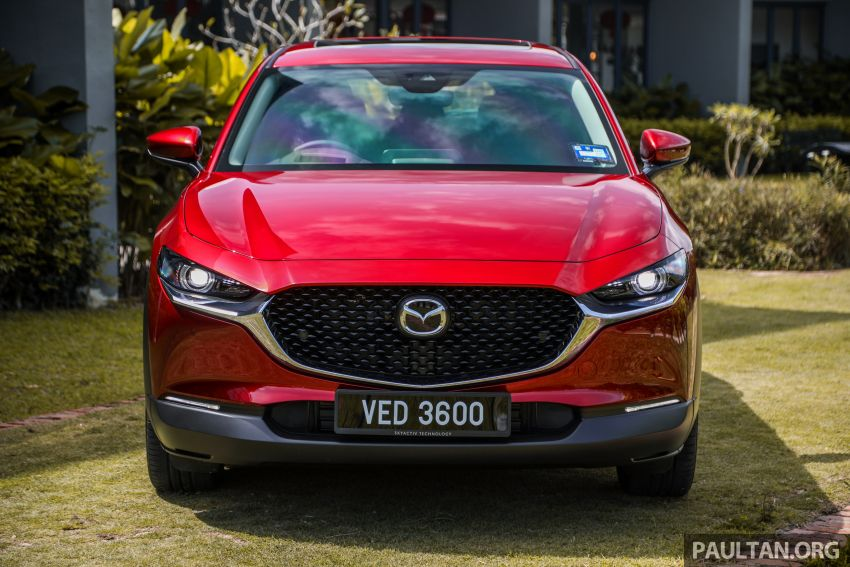 2020 Mazda CX-30 officially launched in Malaysia – three CBU variants; AEB and MRCC; from RM143k Image #1070344