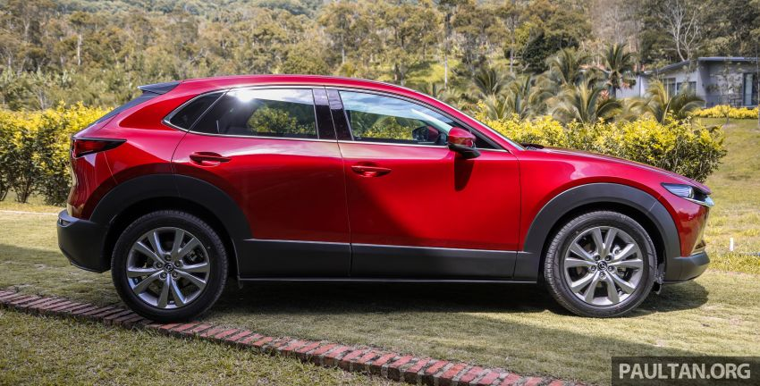 2020 Mazda CX-30 officially launched in Malaysia – three CBU variants; AEB and MRCC; from RM143k Image #1070346