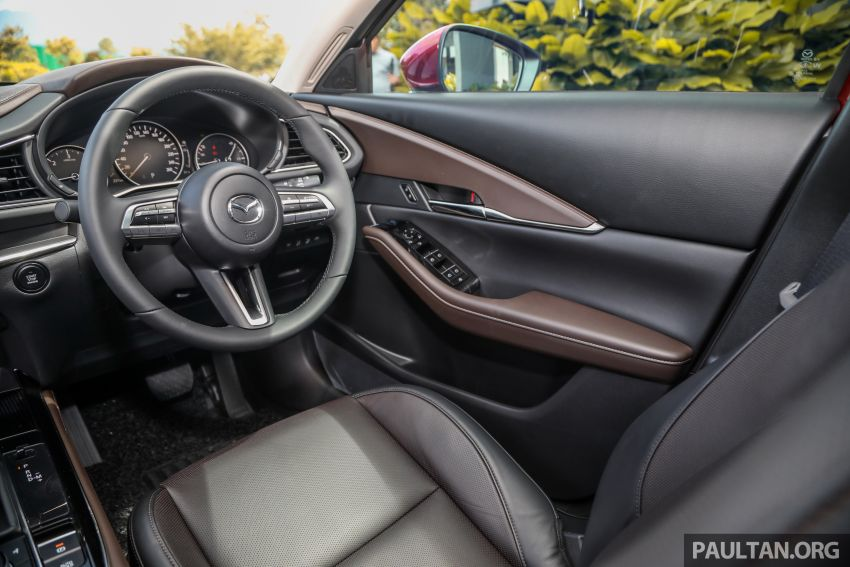2020 Mazda CX-30 officially launched in Malaysia – three CBU variants; AEB and MRCC; from RM143k Image #1070390