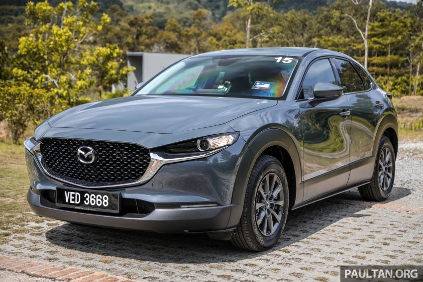 2020 Mazda CX-30 officially launched in Malaysia – three CBU variants; AEB and MRCC; from RM143k Image #1070409