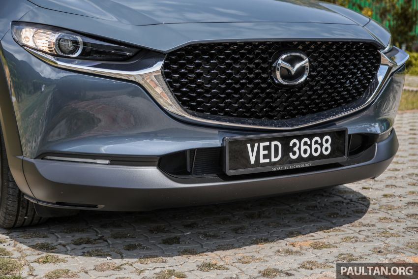 2020 Mazda CX-30 officially launched in Malaysia – three CBU variants; AEB and MRCC; from RM143k Image #1070421
