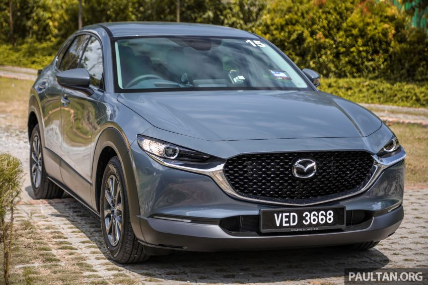 2020 Mazda CX-30 officially launched in Malaysia – three CBU variants; AEB and MRCC; from RM143k Image #1070410