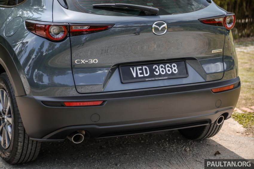 2020 Mazda CX-30 officially launched in Malaysia – three CBU variants; AEB and MRCC; from RM143k Image #1070429