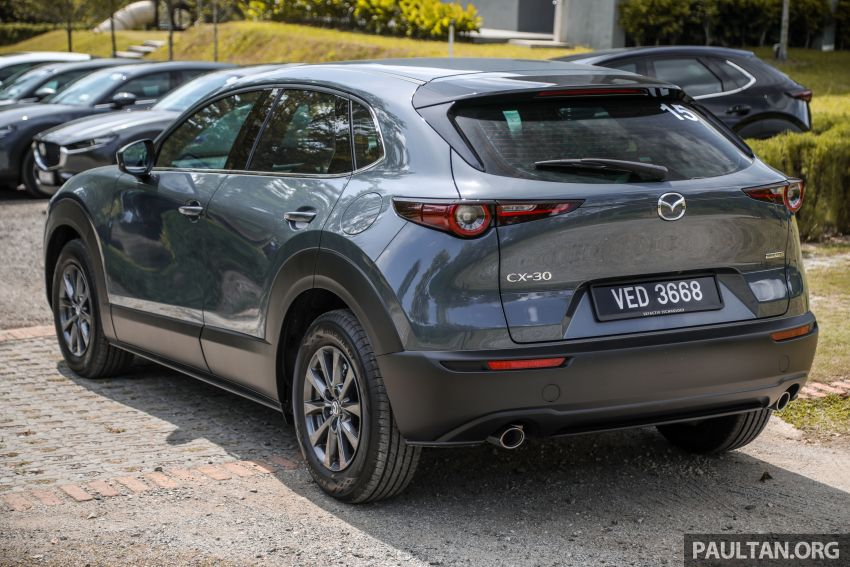 2020 Mazda CX-30 officially launched in Malaysia – three CBU variants; AEB and MRCC; from RM143k Image #1070411