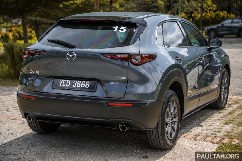 2020 Mazda CX-30 officially launched in Malaysia – three CBU variants; AEB and MRCC; from RM143k Image #1070412