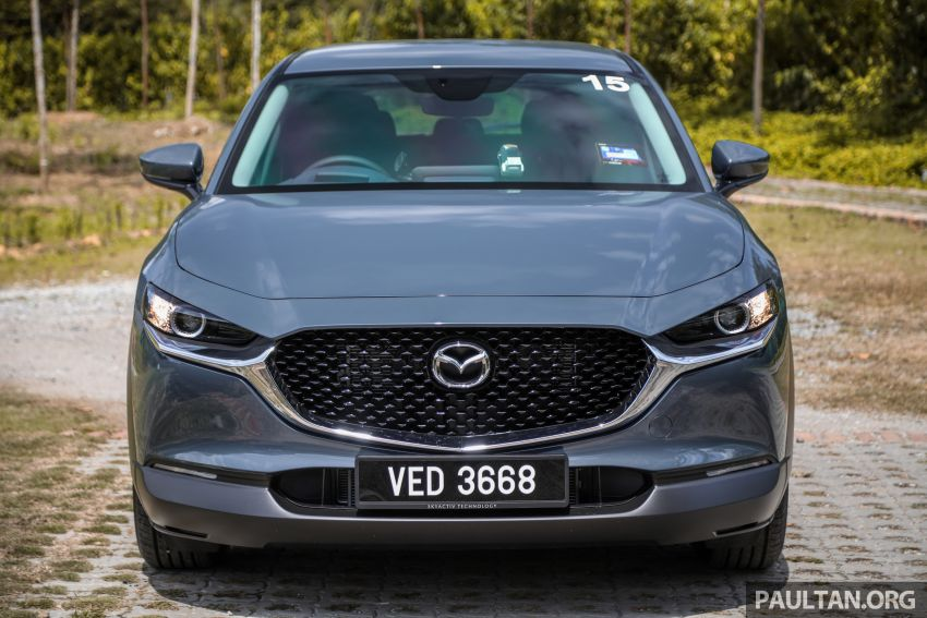 2020 Mazda CX-30 officially launched in Malaysia – three CBU variants; AEB and MRCC; from RM143k Image #1070413