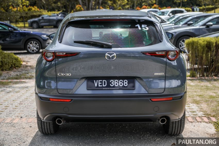 2020 Mazda CX-30 officially launched in Malaysia – three CBU variants; AEB and MRCC; from RM143k Image #1070414