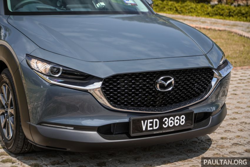 2020 Mazda CX-30 officially launched in Malaysia – three CBU variants; AEB and MRCC; from RM143k Image #1070416