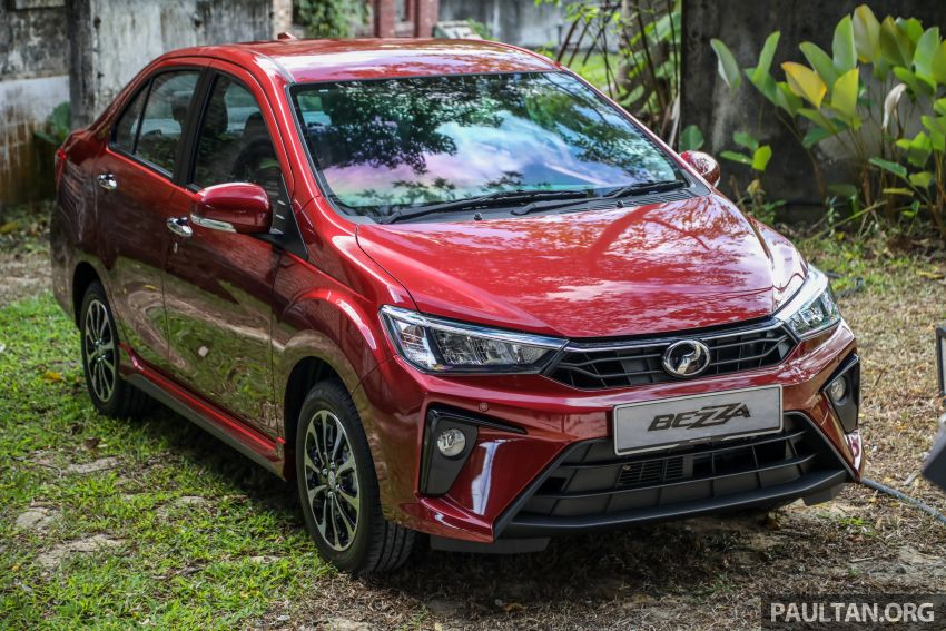 2020 Perodua Bezza facelift launched in Malaysia – ASA 2.0, LED headlamps, 4 variants, from RM34,580 Image #1066074