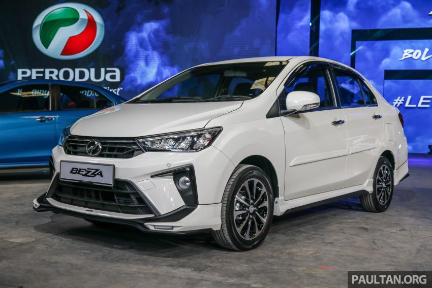 2020 Perodua Bezza GearUp accessories – full bodykit with LED light guides, seat covers, arm rest and more Image #1066193
