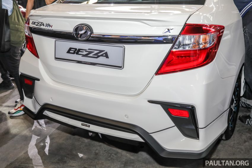 2020 Perodua Bezza GearUp accessories – full bodykit with LED light guides, seat covers, arm rest and more Image #1066217
