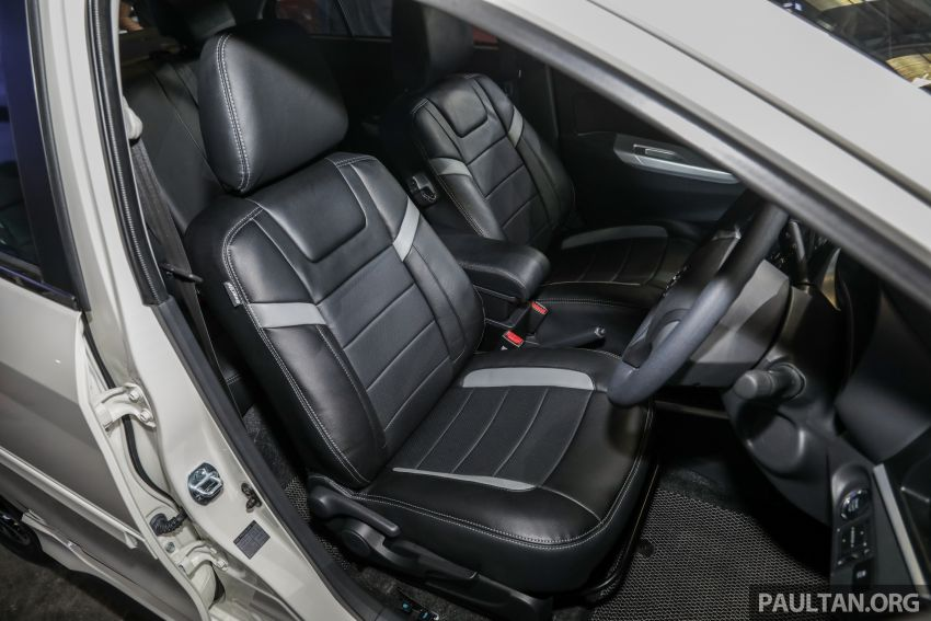 2020 Perodua Bezza GearUp accessories – full bodykit with LED light guides, seat covers, arm rest and more Image #1066223