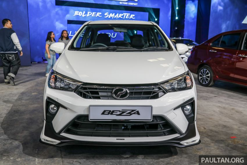 2020 Perodua Bezza GearUp accessories – full bodykit with LED light guides, seat covers, arm rest and more Image #1066196