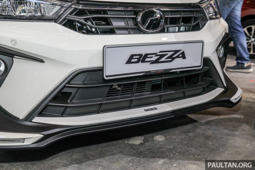 2020 Perodua Bezza GearUp accessories – full bodykit with LED light guides, seat covers, arm rest and more Image #1066203