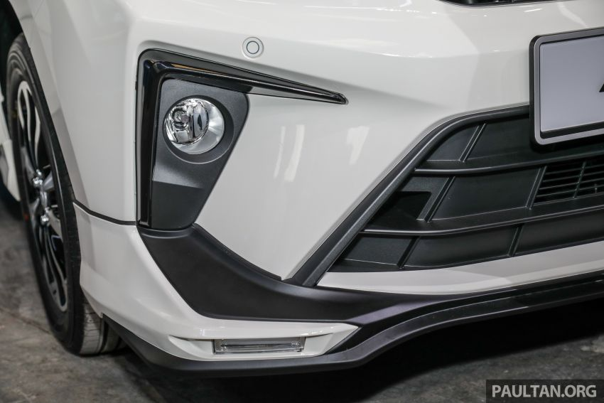 2020 Perodua Bezza GearUp accessories – full bodykit with LED light guides, seat covers, arm rest and more Image #1066206