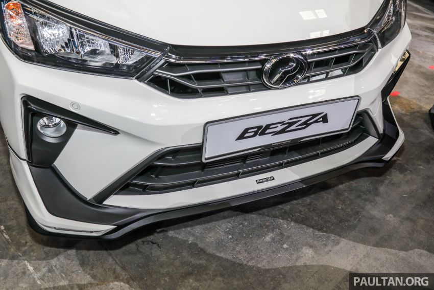 2020 Perodua Bezza GearUp accessories – full bodykit with LED light guides, seat covers, arm rest and more Image #1066207