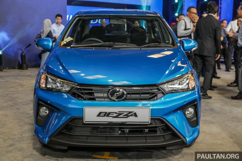 2020 Perodua Bezza facelift launched in Malaysia – ASA 2.0, LED headlamps, 4 variants, from RM34,580 Image #1066382
