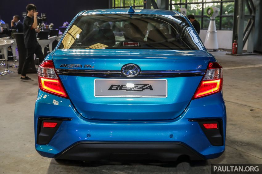 2020 Perodua Bezza facelift launched in Malaysia – ASA 2.0, LED headlamps, 4 variants, from RM34,580 Image #1066385