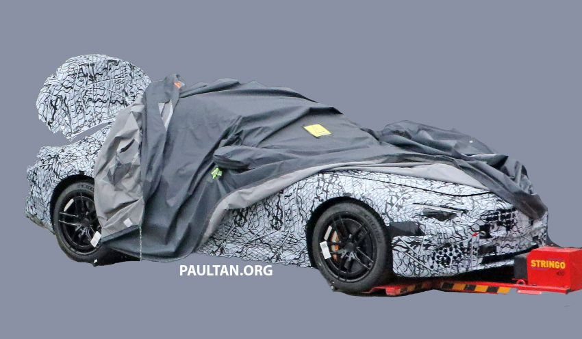 SPYSHOTS: Mercedes-Benz SL returns to fabric roof, to receive up to 800 hp in SL73 hybrid twin-turbo V8 Image #1073912