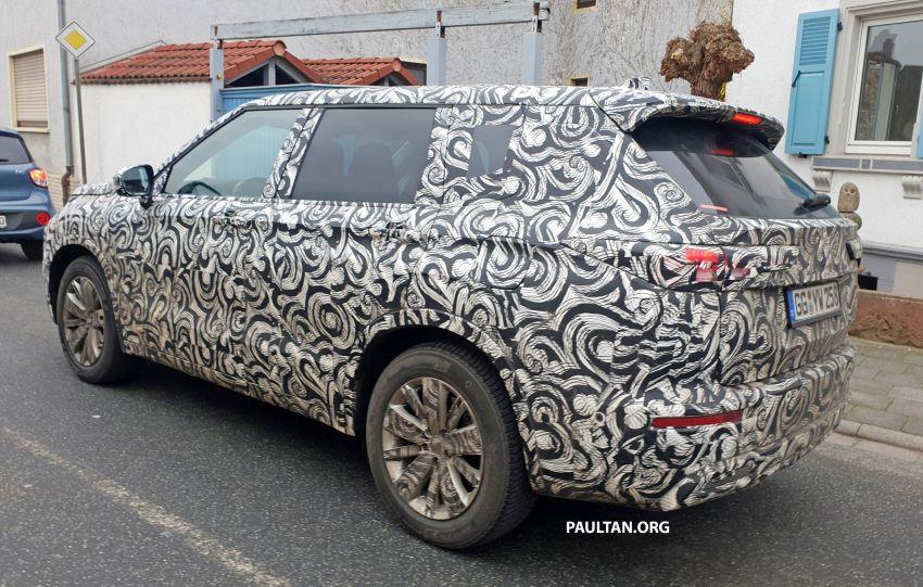 SPYSHOTS: 2021 Mitsubishi Outlander spotted testing Image #1075442