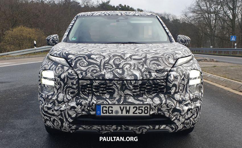 SPYSHOTS: 2021 Mitsubishi Outlander spotted testing Image #1075433