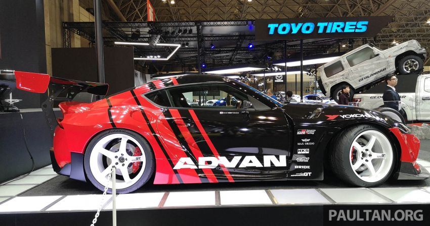 TAS 2020: A90 Toyota GR Supra left, right and centre Image #1073616