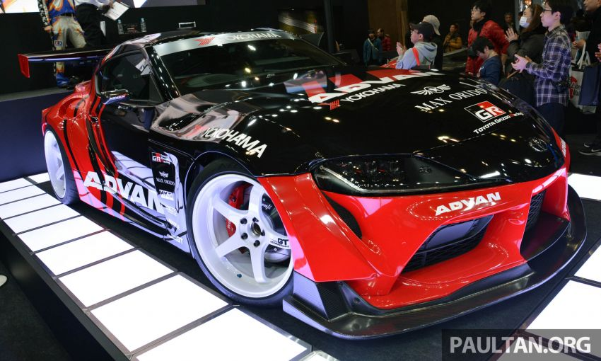 TAS 2020: A90 Toyota GR Supra left, right and centre Image #1073605
