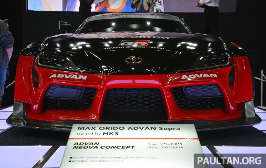 TAS 2020: A90 Toyota GR Supra left, right and centre Image #1073612