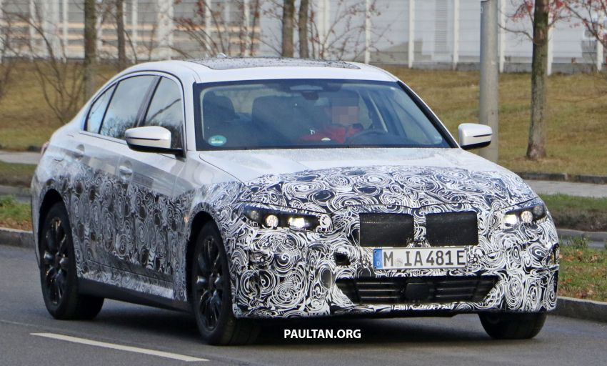 SPIED: Fully electric G20 BMW 3 Series seen testing Image #1069877