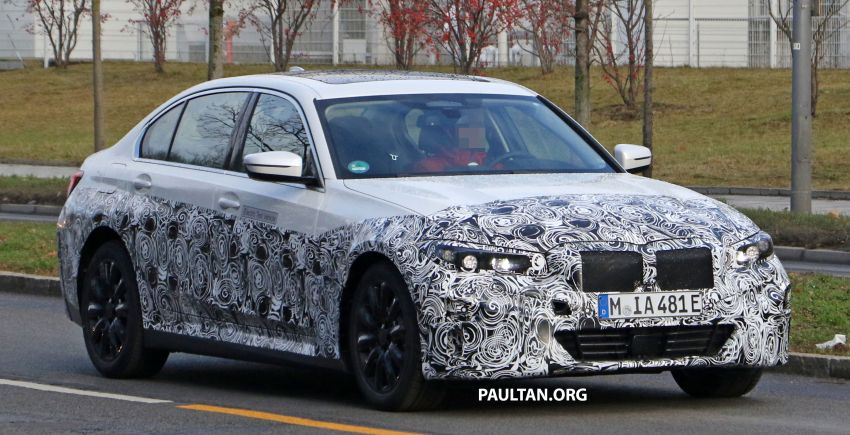 SPIED: Fully electric G20 BMW 3 Series seen testing Image #1069878