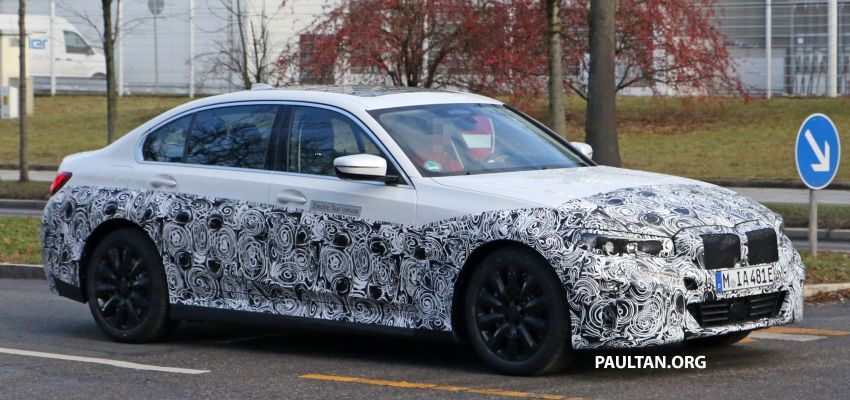 SPIED: Fully electric G20 BMW 3 Series seen testing Image #1069879
