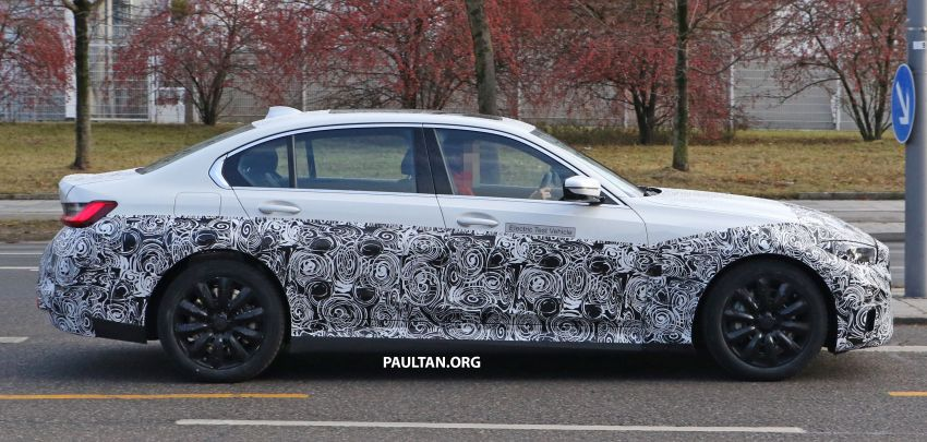 SPIED: Fully electric G20 BMW 3 Series seen testing Image #1069881