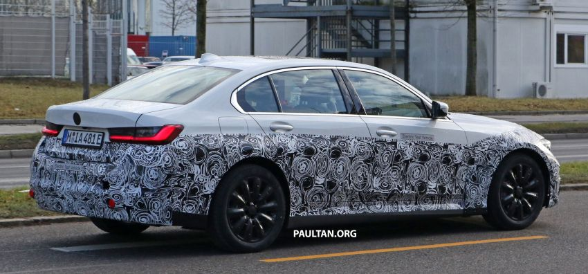 SPIED: Fully electric G20 BMW 3 Series seen testing Image #1069882