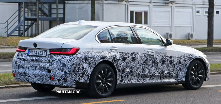 SPIED: Fully electric G20 BMW 3 Series seen testing Image #1069883
