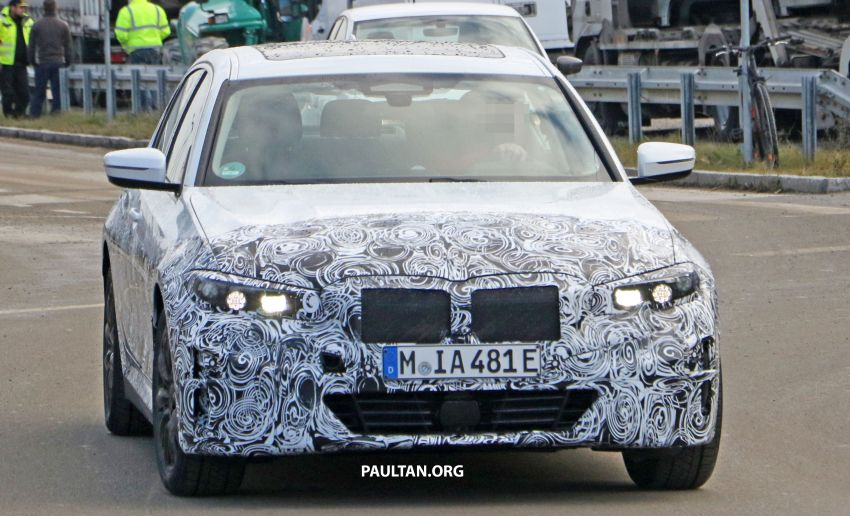 SPIED: Fully electric G20 BMW 3 Series seen testing Image #1069869
