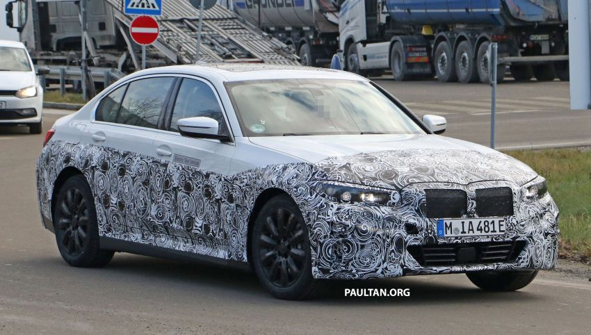 SPIED: Fully electric G20 BMW 3 Series seen testing Image #1069870