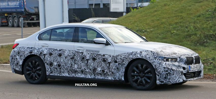 SPIED: Fully electric G20 BMW 3 Series seen testing Image #1069872