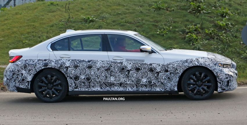 SPIED: Fully electric G20 BMW 3 Series seen testing Image #1069873