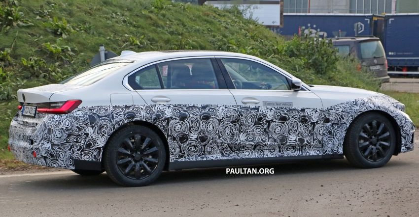 SPIED: Fully electric G20 BMW 3 Series seen testing Image #1069874