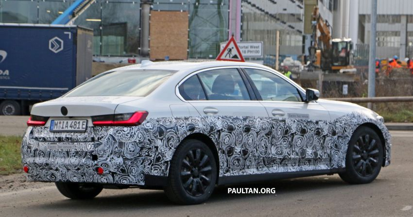 SPIED: Fully electric G20 BMW 3 Series seen testing Image #1069876