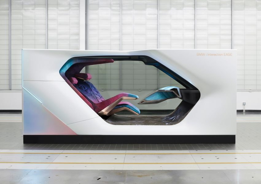 BMW i Interaction EASE concept shown at CES 2020 – elements from design study to be in production iNEXT Image #1066826