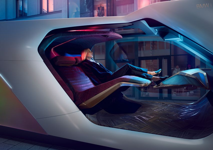 BMW i Interaction EASE concept shown at CES 2020 – elements from design study to be in production iNEXT Image #1066847