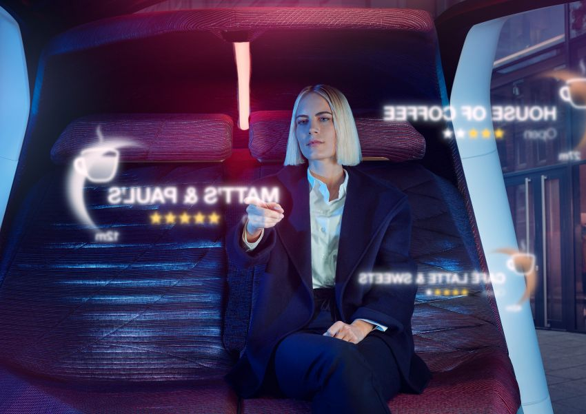 BMW i Interaction EASE concept shown at CES 2020 – elements from design study to be in production iNEXT Image #1066852