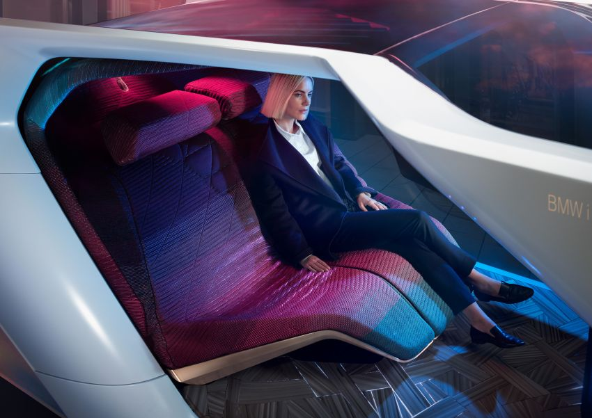 BMW i Interaction EASE concept shown at CES 2020 – elements from design study to be in production iNEXT Image #1066853
