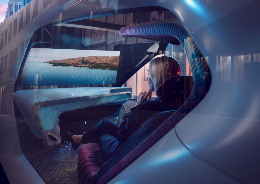 BMW i Interaction EASE concept shown at CES 2020 – elements from design study to be in production iNEXT Image #1066865