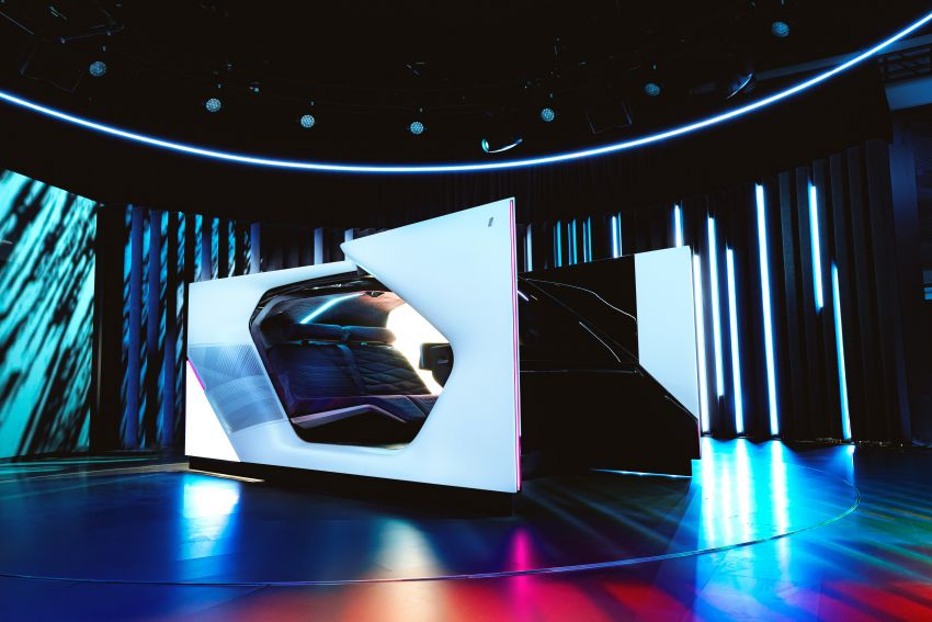 BMW i Interaction EASE concept shown at CES 2020 – elements from design study to be in production iNEXT Image #1066869