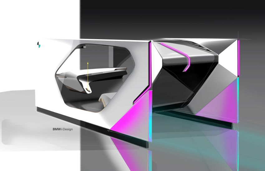 BMW i Interaction EASE concept shown at CES 2020 – elements from design study to be in production iNEXT Image #1066807