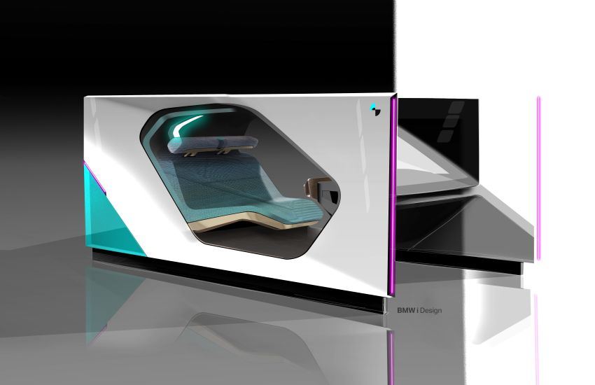 BMW i Interaction EASE concept shown at CES 2020 – elements from design study to be in production iNEXT Image #1066810