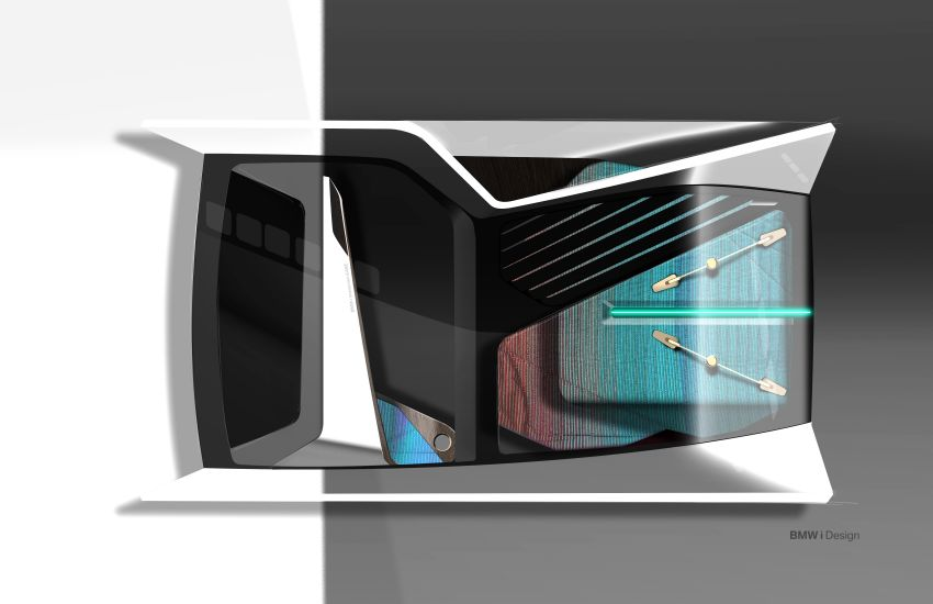 BMW i Interaction EASE concept shown at CES 2020 – elements from design study to be in production iNEXT Image #1066813